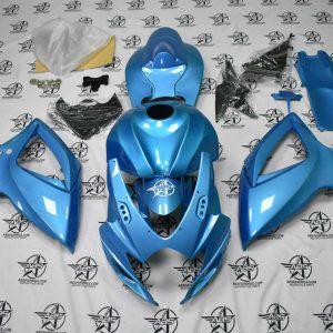 29246 Pearl Aqua Blue Fairing Kit 2006-2007 GSXR 600-750 front