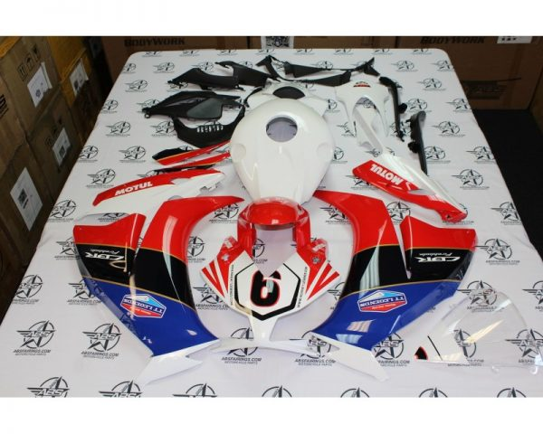 2012 to 2016 HONDA CBR1000 NUMBER SIX RACING ABS FAIRINGS-800x640