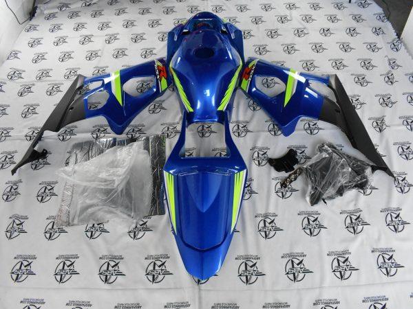 69081 Blue Racing Edition - 2003 To 2004 GSXR 1000 Rear