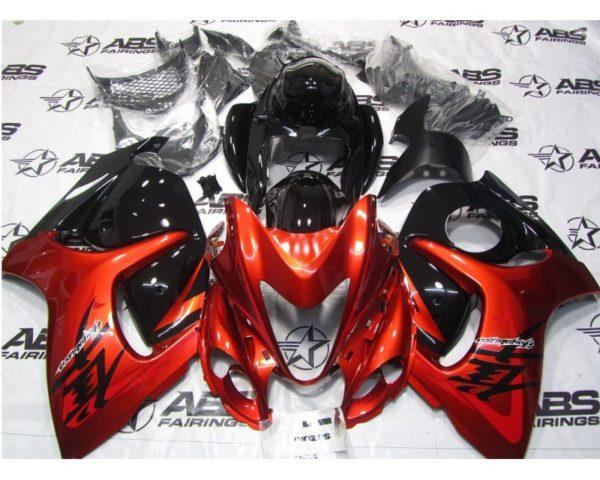 BURNT RED ORANGE AND BLACK – 2008 TO 2019 HAYABUSA GSXR1300